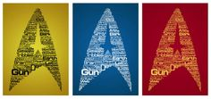Star Trek The Original Series Typography