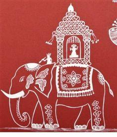 Warli elephant