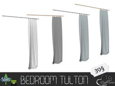 BuffSumm's Tulton Bedroom Curtain Half (right side)