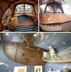 Dive! Dive! Dive! 16 Incredible Submarine-themed Rooms   WebUrbanist
