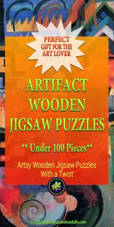 Are you looking for Artifact Wooden Puzzles Under 100 Pieces? You'll find plenty of beautiful Artifact wooden puzzles that have less than 100 pieces Difficult Jigsaw Puzzles, Wooden Jigsaw Puzzles, Maze Game, Hobby Ideas, Puzzle Art, Famous Artists, Fun Games, Lovers Art, Madness