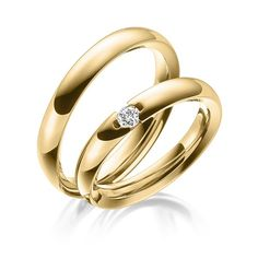Q-1473-1 1 2 3 Gold, Wedding Bands, Gold Rings, Perfume, Rose Gold, Engagement Rings, Jewels, Rings, Diamond