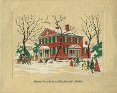 A Christmas card from The John Marshall Foundation