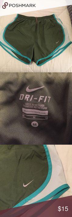 Nike olive green running shorts size medium Nike olive green running shorts size medium like new Nike Shorts