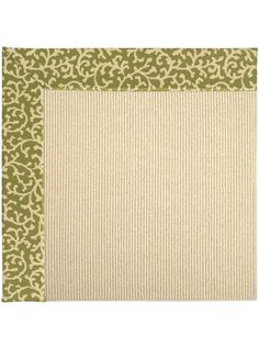 This Zoe-Beach Sisal Green Avocado Collection rug (2009) is manufactured by Capel. The Creative Concepts Beach Sisal style, a member of our Creative Concepts collection, is a quality bordered rug design from Capel Rugs.