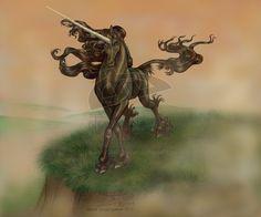 """Darkish Unicorn By """"Black UniGryphon"""" Kandice Kathleen Zimbleman 烏獨角獸 任思麒"""