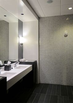 restroom design ideas for hospitality - Google Search