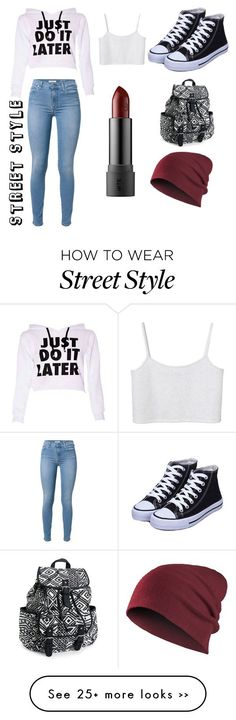 """""""Street style"""" by dontakemyfood on Polyvore featuring Monki, 7 For All Mankind and Aéropostale"""