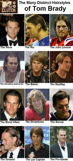 The Many Distinct Hairstyles of Tom Brady af231fa2a