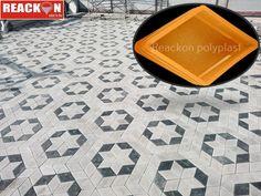 Paving Design, Brick Design, Concrete Design, Interlocking Flooring, Interlocking Bricks, Driveway Edging, Walkway, Brick Wall Decor, Pavement Design