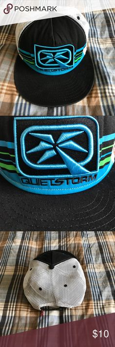 Quiet Storm Baseball Hat Cap SnapBack Gently used condition Quiet Storm Accessories Hats
