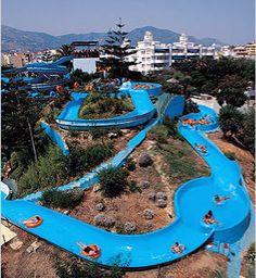 Mijas, Málaga| mijas aqua park on the costa del sol,fantastic family waterpark