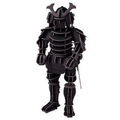 3D Puzzles Samurai Armor / MUJI