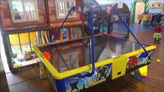 WIK Monster léghoki asztal működés közben - videó Darts, Pinball, Wii, Dart Flights