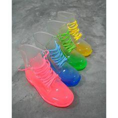 Jelly shoes....would ya'll wear em???