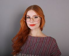 8264cbee7d vintage 70s Authentic DIOR Oversized EYEGLASSES   1970s Matte Red Gold Wire  Butterfly Glasses Frames 70s