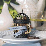 Lovebird Wedding Favors - Lovebirds - Bird Theme Favors