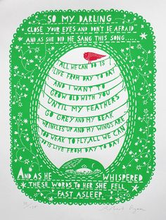 A Sky Full of Kindness: Rob Ryan's Remarkable Cut-Paper Illustrations   Brain Pickings