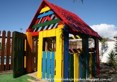 #House, #Kids, #KidsPlayhouse, #RecycledPallet