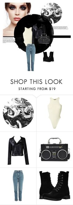 """Everyday Outfit"" by daeix001 ❤ liked on Polyvore featuring Yeezy by Kanye West, Taya, Topshop and Frye"