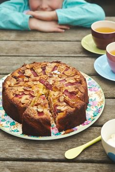 Market Dreaming + Rhubarb, Rosewater and Almond Cake Recipe