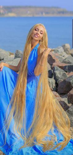 Really Long Hair, Super Long Hair, Beautiful Long Hair, Gorgeous Hair, Rapunzel Hair, Wild Hair, Hair Affair, Hair Lengths, Girl Hairstyles