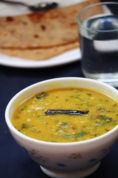 dal tadka - tasty side dish for chapati, roti, rice  #indianfood #food #recipes…
