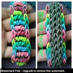 Idea from rainbow loom's Facebook page