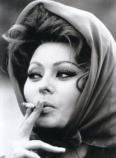 Sofia Loren. Classic sex bomb :)