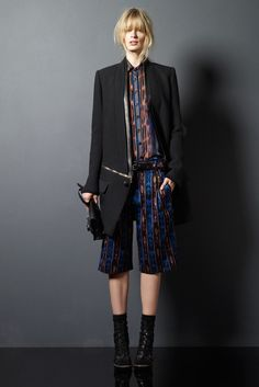 Proenza Schouler Pre-Fall 2011 Fashion Show - Julia Stegner