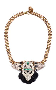 LULU FROST 50 Year Necklace Featuring Vintage Parts From 1860-1960