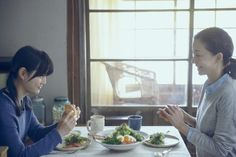 """Little Forest (Japan 2014-2015) """"Little Forest which was shot over the course of a year is a 4 part film of four seasons. The film follows the simple but fulfilling life of a girl who cooks delicious dishes from the food she gathers and farms nearby."""""""