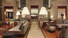Welcome to Lobby Area The Ritz-Carlton, Herzliya brings a cool contemporary elegance to a treasured ancient land