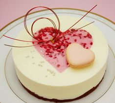 cheesecake, love the decoration