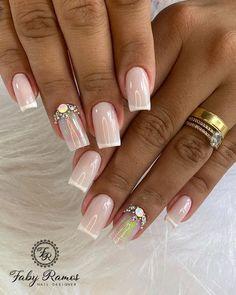 1, Nails, Beauty, Instagram, Fashion, Gorgeous Nails, Gel Nail, Fiber, Simple Elegant Nails