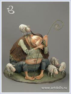 Egupets Olga.  Dolls.  Project July 12