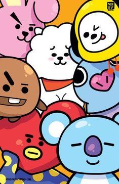 Bts wallpaper awesome New ideas Bts Taehyung, Bts Bangtan Boy, Bts Jimin, K Wallpaper, Cartoon Wallpaper, Wallpaper Awesome, Beautiful Wallpaper, Kawaii Wallpaper, Make Up Geek