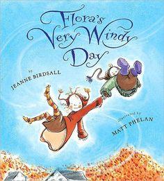 Flora's Very Windy Day - Jeanne Birdsall & Matt Phelan