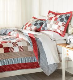 Cotton Americana Patchwork Quilts