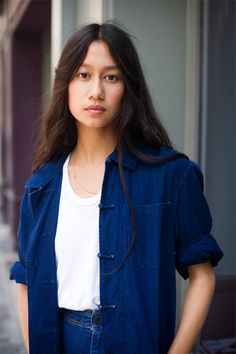 Sarah-Linh Tran, Christophe Lemaire's Studio Director and partner <3