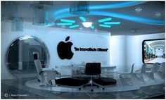 A fictional Apple Meeting Room by Reza Purnama   http://www.home-designing.com/2009/06/office-meeting-room-designs      I am certain that Apple will look like this in just a few years. :)