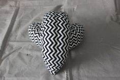 Figure/Ice Skating Soakers that features Black and White Chevron Flannel Fabric with terry cloth inside