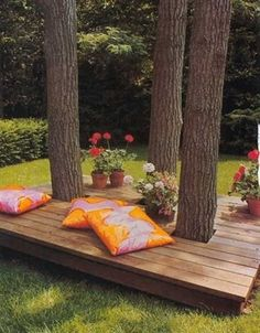 For when I move back to the South! 35 Creative Backyard Designs Adding Interest to Landscaping Ideas #LandscapingIdeas