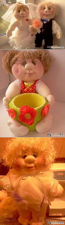 мои новенькие: Дневник группы «скульптурно-текстильная кукла(чулочная техника)»: Группы - женская социальная сеть myJulia.ru