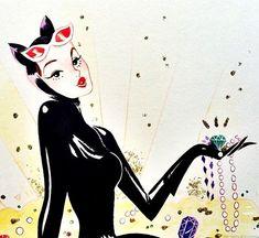 Catwoman by Sibylline Baynet
