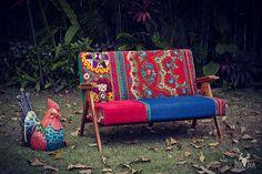 SOLD MariVanna Vintage Sofa by BirBor on Etsy