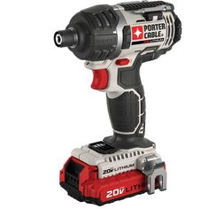 Shop PORTER-CABLE 20-Volt 1/4-in Cordless Variable Speed Impact Driver with Soft Case at Lowes.com