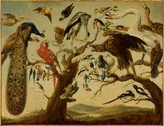 Frans Snyders (d'après) Un concert d'oiseaux,1896*