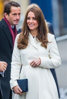12 Feb 2015:  The Duchess of Cambridge at the headquarters of Ben Ainslie Racing in Portsmouth