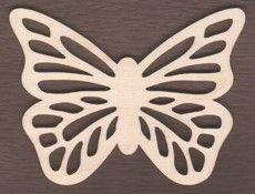 WT1751-Laser cut Scroll Butterfly